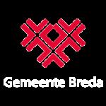 Gemeente Breda logo tekst wit transparant